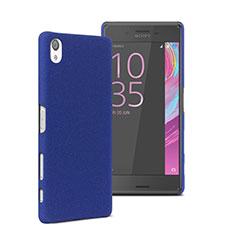 Carcasa Dura Plastico Rigida Mate para Sony Xperia X Azul