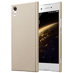 Carcasa Dura Plastico Rigida Mate para Sony Xperia XA1 Oro