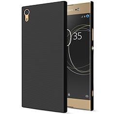 Carcasa Dura Plastico Rigida Mate para Sony Xperia XA1 Ultra Negro