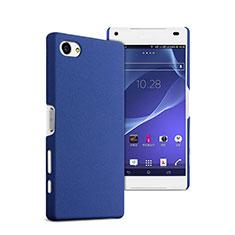 Carcasa Dura Plastico Rigida Mate para Sony Xperia Z5 Compact Azul