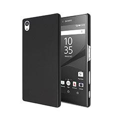 Carcasa Dura Plastico Rigida Mate para Sony Xperia Z5 Negro