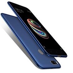 Carcasa Dura Plastico Rigida Mate para Xiaomi Mi A1 Azul