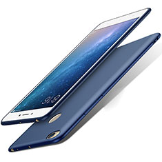 Carcasa Dura Plastico Rigida Mate para Xiaomi Mi Max 2 Azul