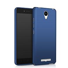 Carcasa Dura Plastico Rigida Mate para Xiaomi Redmi Note 2 Azul
