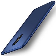 Carcasa Dura Plastico Rigida Mate para Xiaomi Redmi Note 4 Azul