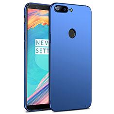 Carcasa Dura Plastico Rigida Mate R02 para OnePlus 5T A5010 Azul
