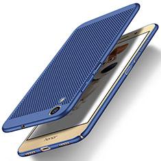Carcasa Dura Plastico Rigida Perforada para Huawei Honor Holly 3 Azul