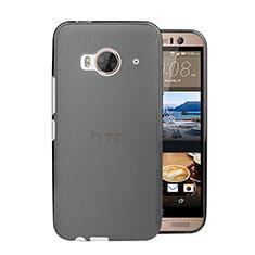 Carcasa Dura Ultrafina Transparente Mate para HTC One Me Gris