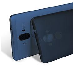 Carcasa Dura Ultrafina Transparente Mate para Huawei Mate 9 Azul