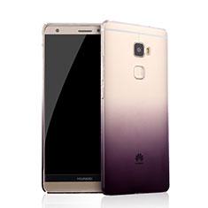 Carcasa Gel Ultrafina Transparente Gradiente para Huawei Mate S Morado