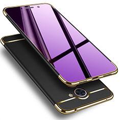 Carcasa Lujo Marco de Aluminio para Huawei Enjoy 7 Plus Negro