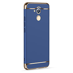 Carcasa Lujo Marco de Aluminio para Huawei Honor 6C Azul
