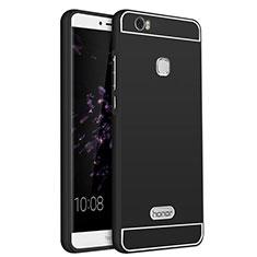 Carcasa Lujo Marco de Aluminio para Huawei Honor Note 8 Negro