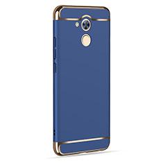 Carcasa Lujo Marco de Aluminio para Huawei Nova Smart Azul