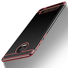 Carcasa Silicona Goma Gel para Motorola Moto Z Play Rosa