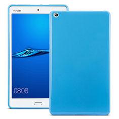 Carcasa Silicona Goma para Huawei MediaPad M3 Azul