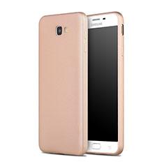 Carcasa Silicona Goma para Samsung Galaxy J7 Prime Oro