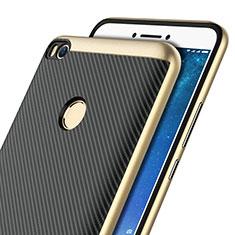 Carcasa Silicona Goma Twill para Xiaomi Mi Max 2 Oro