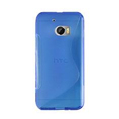 Carcasa Silicona S-Line para HTC 10 One M10 Azul