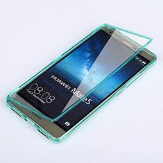 Carcasa Silicona Transparente Cubre Entero para Huawei Mate S Azul Cielo