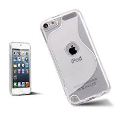 Carcasa Silicona Transparente S-Line para Apple iPod Touch 5 Blanco