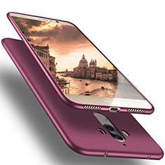 Carcasa Silicona Ultrafina Goma para Huawei Mate 10 Pro Morado