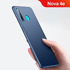 Carcasa Silicona Ultrafina Goma para Huawei Nova 4e Azul