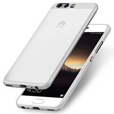 Carcasa Silicona Ultrafina Goma para Huawei P10 Plus Blanco