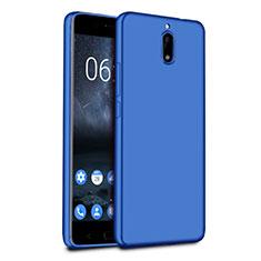 Carcasa Silicona Ultrafina Goma para Nokia 6 Azul