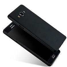 Carcasa Silicona Ultrafina Goma para Samsung Galaxy A7 SM-A700 Negro