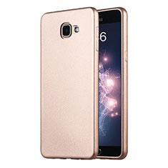 Carcasa Silicona Ultrafina Goma para Samsung Galaxy A9 Pro (2016) SM-A9100 Oro