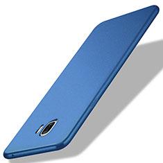 Carcasa Silicona Ultrafina Goma para Samsung Galaxy C7 Pro C7010 Azul