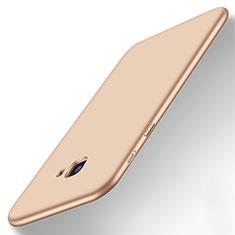 Carcasa Silicona Ultrafina Goma para Samsung Galaxy J7 Prime Oro