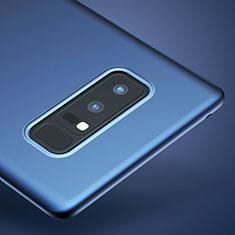 Carcasa Silicona Ultrafina Goma para Samsung Galaxy Note 8 Duos N950F Azul