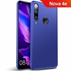 Carcasa Silicona Ultrafina Goma S03 para Huawei Nova 4e Azul