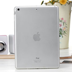 Carcasa Silicona Ultrafina Transparente para Apple iPad Air Blanco