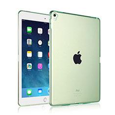 Carcasa Silicona Ultrafina Transparente para Apple iPad Pro 9.7 Verde