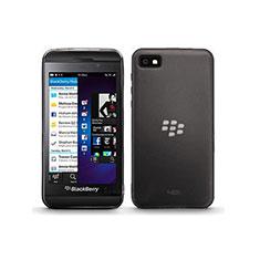 Carcasa Silicona Ultrafina Transparente para Blackberry Z10 Gris