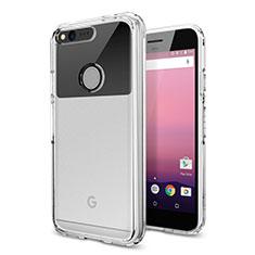 Carcasa Silicona Ultrafina Transparente para Google Pixel Claro