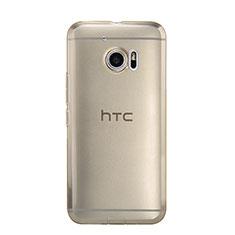 Carcasa Silicona Ultrafina Transparente para HTC 10 One M10 Oro