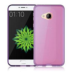 Carcasa Silicona Ultrafina Transparente para HTC U Play Rosa