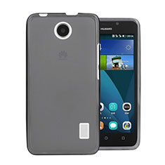 Carcasa Silicona Ultrafina Transparente para Huawei Ascend Y635 Gris