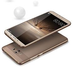 Carcasa Silicona Ultrafina Transparente para Huawei Mate 10 Gris
