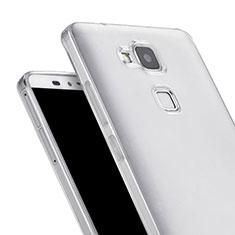 Carcasa Silicona Ultrafina Transparente para Huawei Mate 7 Claro