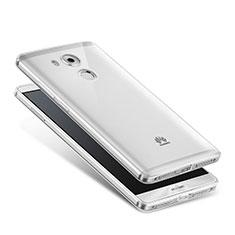 Carcasa Silicona Ultrafina Transparente para Huawei Mate 8 Claro