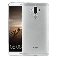Carcasa Silicona Ultrafina Transparente para Huawei Mate 9 Claro