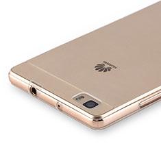 Carcasa Silicona Ultrafina Transparente para Huawei P8 Lite Claro