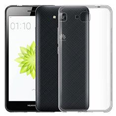 Carcasa Silicona Ultrafina Transparente para Huawei Y6 Pro Claro