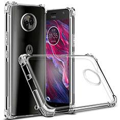 Carcasa Silicona Ultrafina Transparente para Motorola Moto X4 Claro
