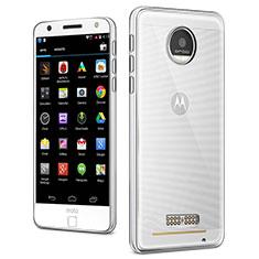Carcasa Silicona Ultrafina Transparente para Motorola Moto Z Claro